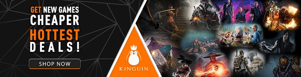 Kinguin Hottest Deals 970x250