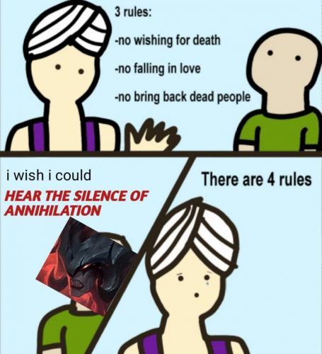 Aatrox Genie rules