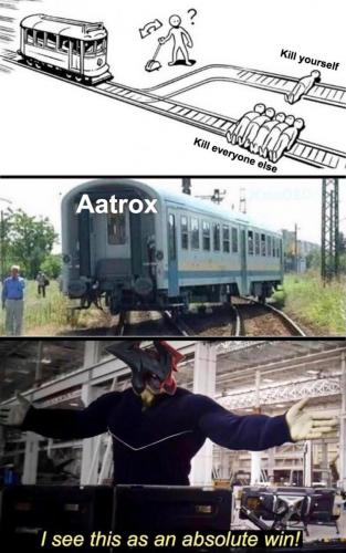 Aatrox train win