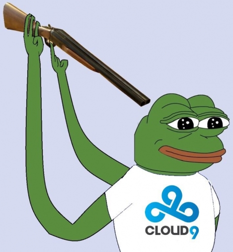 Cloud 9 Shotgun Pepe