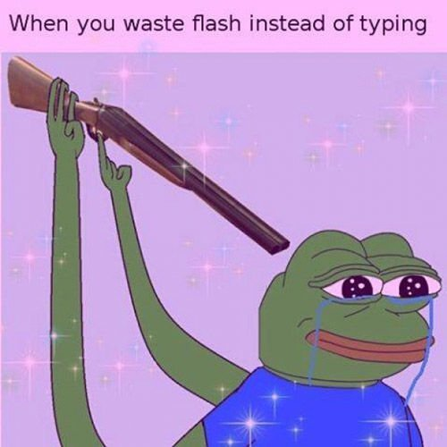 Flash Waste Shotgun Pepe