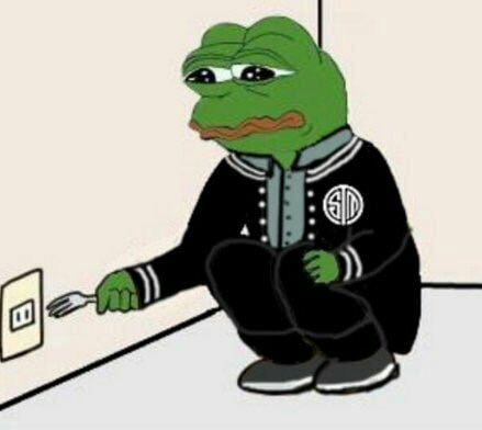 TSM Suicide by fork pepe